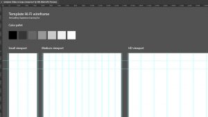 Screen grab of my Adobe Illustrator template