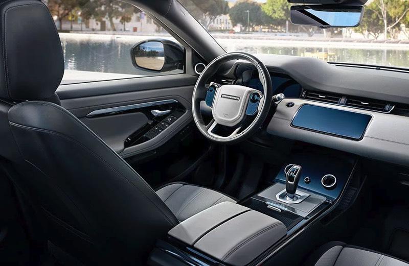 Range Rover Evoque left hand drive interior